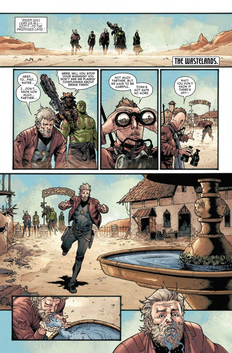 Are Doom Meals Better or Worse Than Dinner at the White House? Next Week's Old Man Quill #2 (Preview)