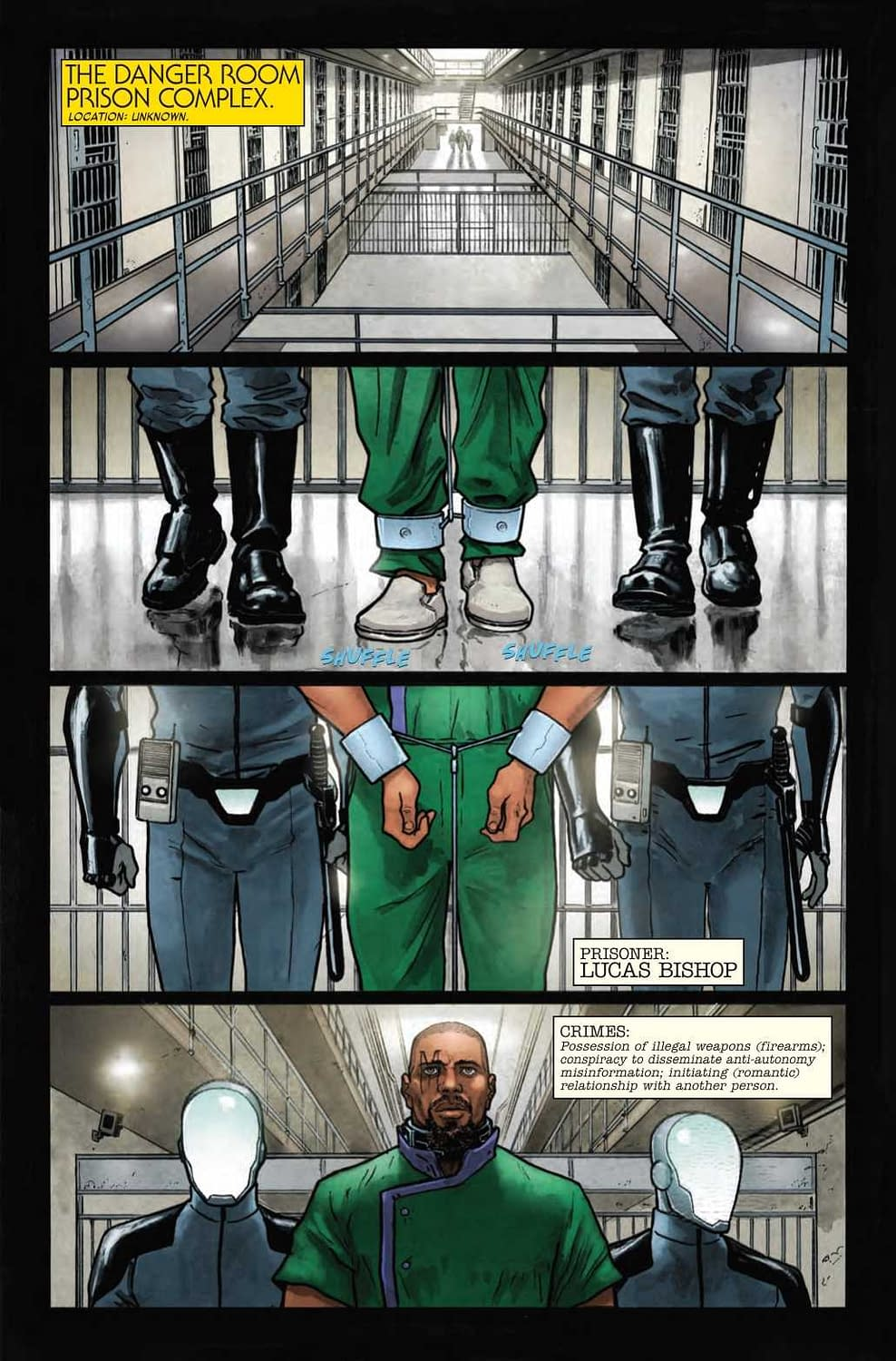 Beast Finally Gets What He Deserves in Age of X-Man: Prisoner X #1