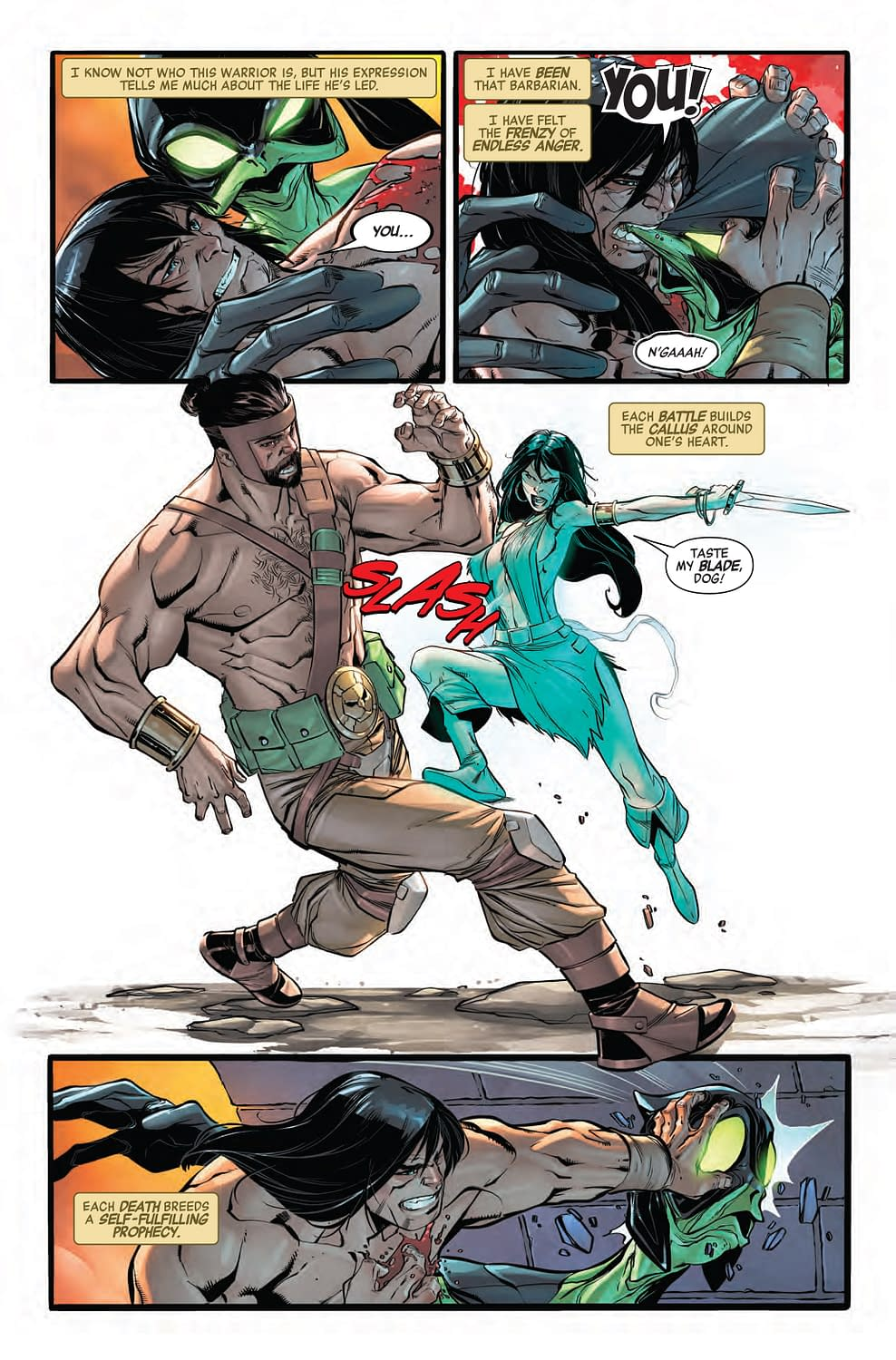 Why Conan Should Have Never Joined the Avengers in Next Week's No Road Home #8