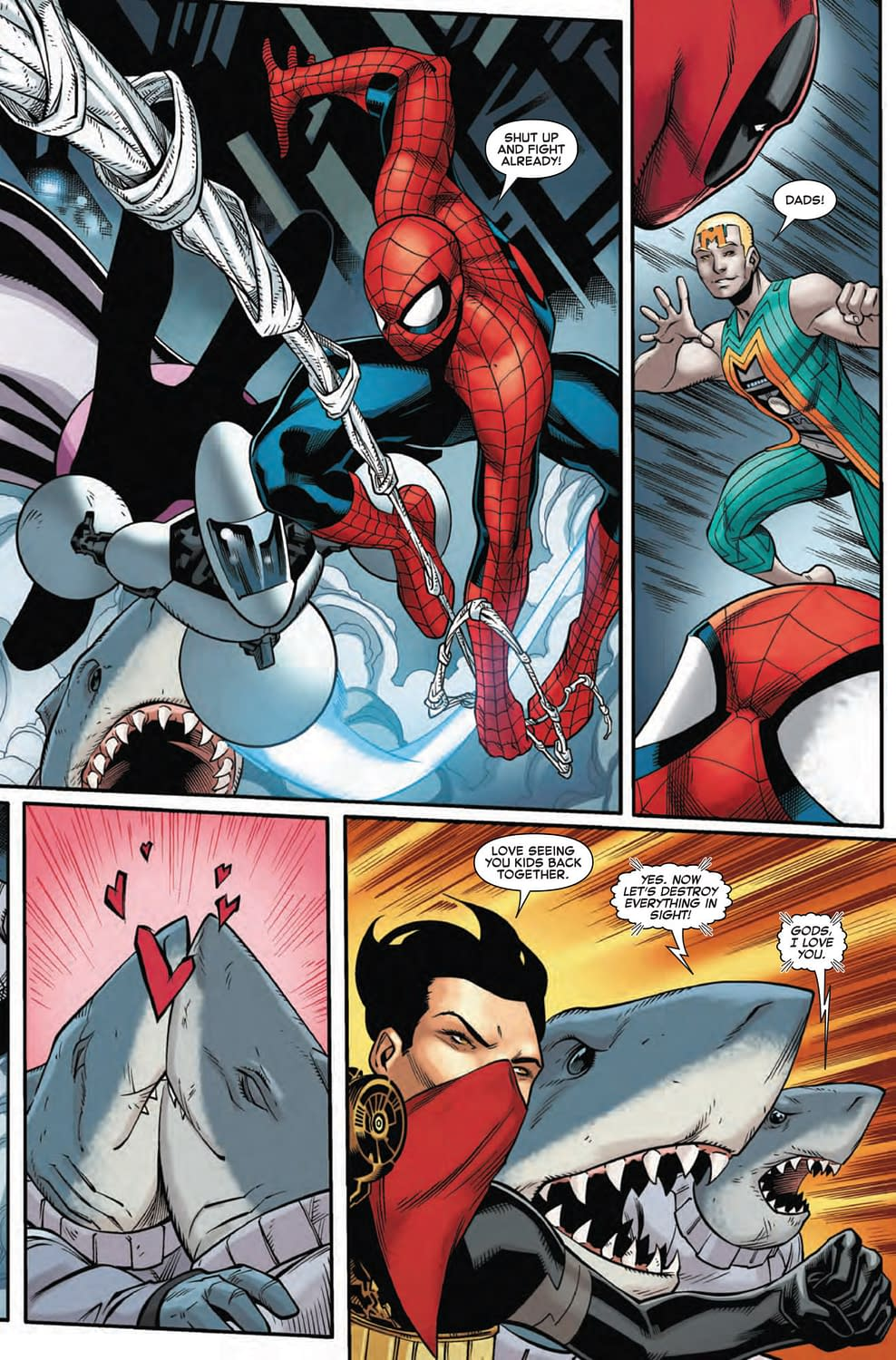 Why Deadpool is Smarter Than Reed Richards in Next Week's Spider-Man/Deadpool #49