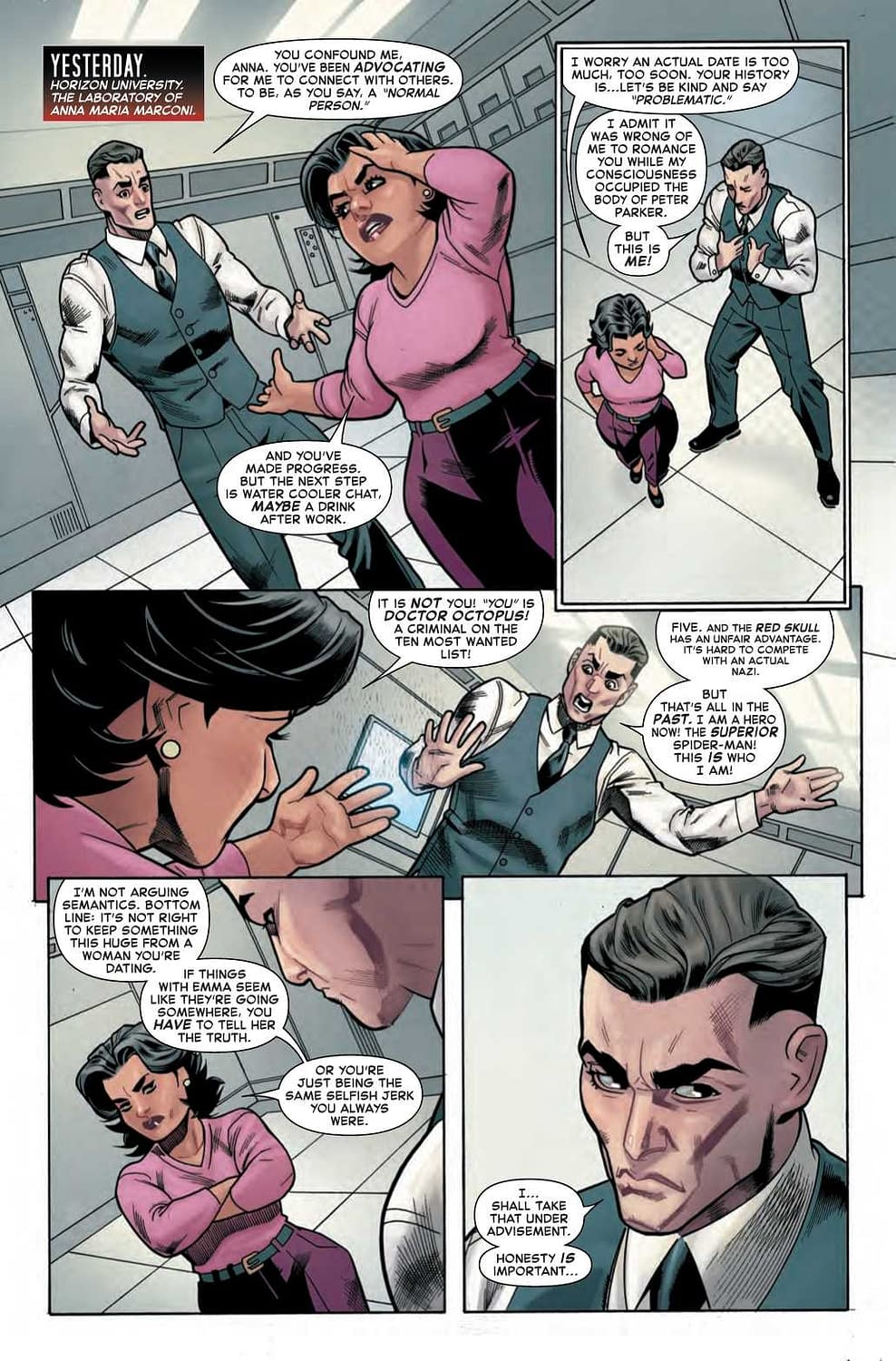 Doctor Octopus Gets Woke in This Superior Spider-Man #5 Preview
