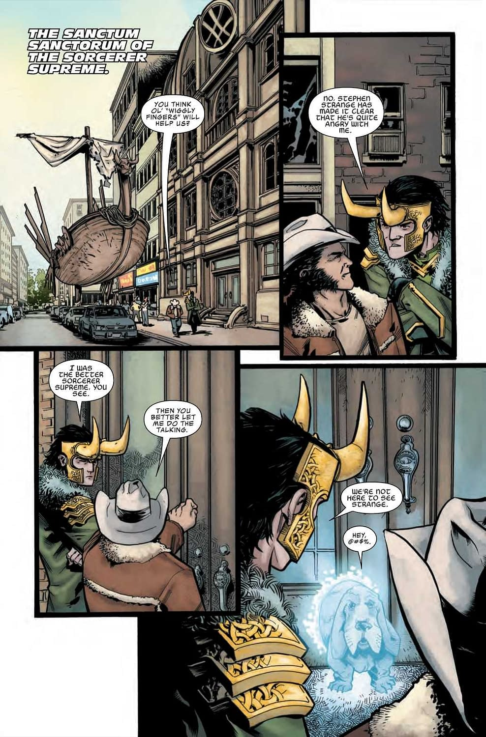 Can Wolverine Drive a Space-Boat While Intoxicated? Wolverine Infinity Watch #3 Preview