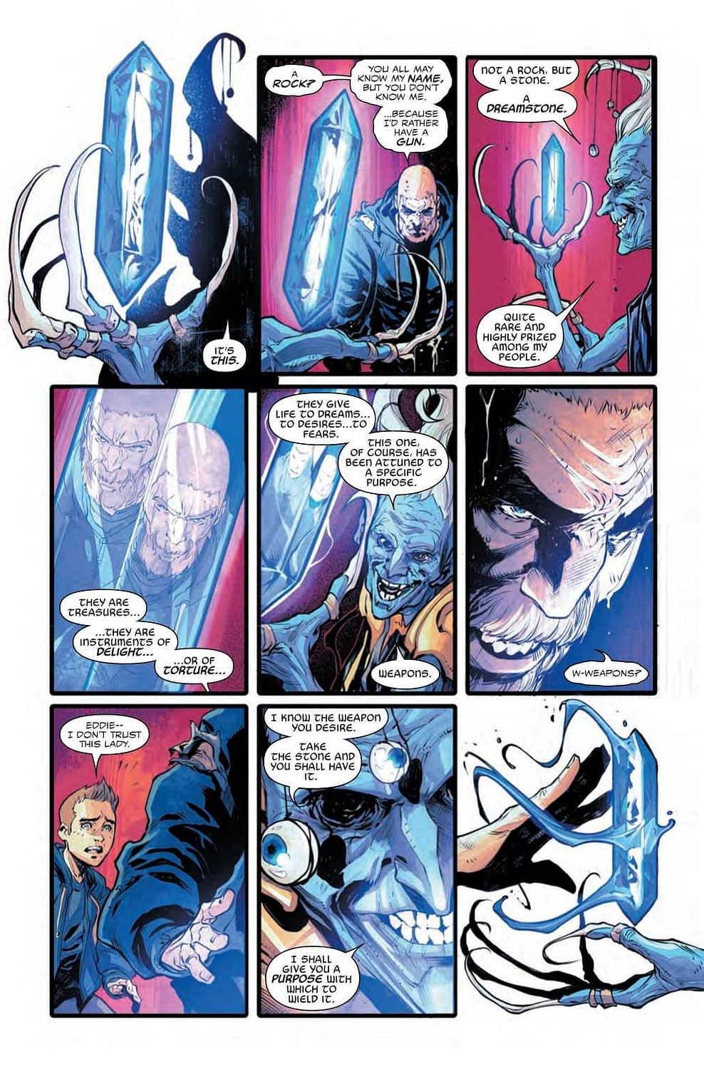 Does Venom Join the Wrong Side of the War of the Realms? War of the Realms: Venom #1 Preview