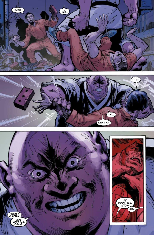 Daredevil's Christopher Priest Impersonation - Daredevil #6 Preview