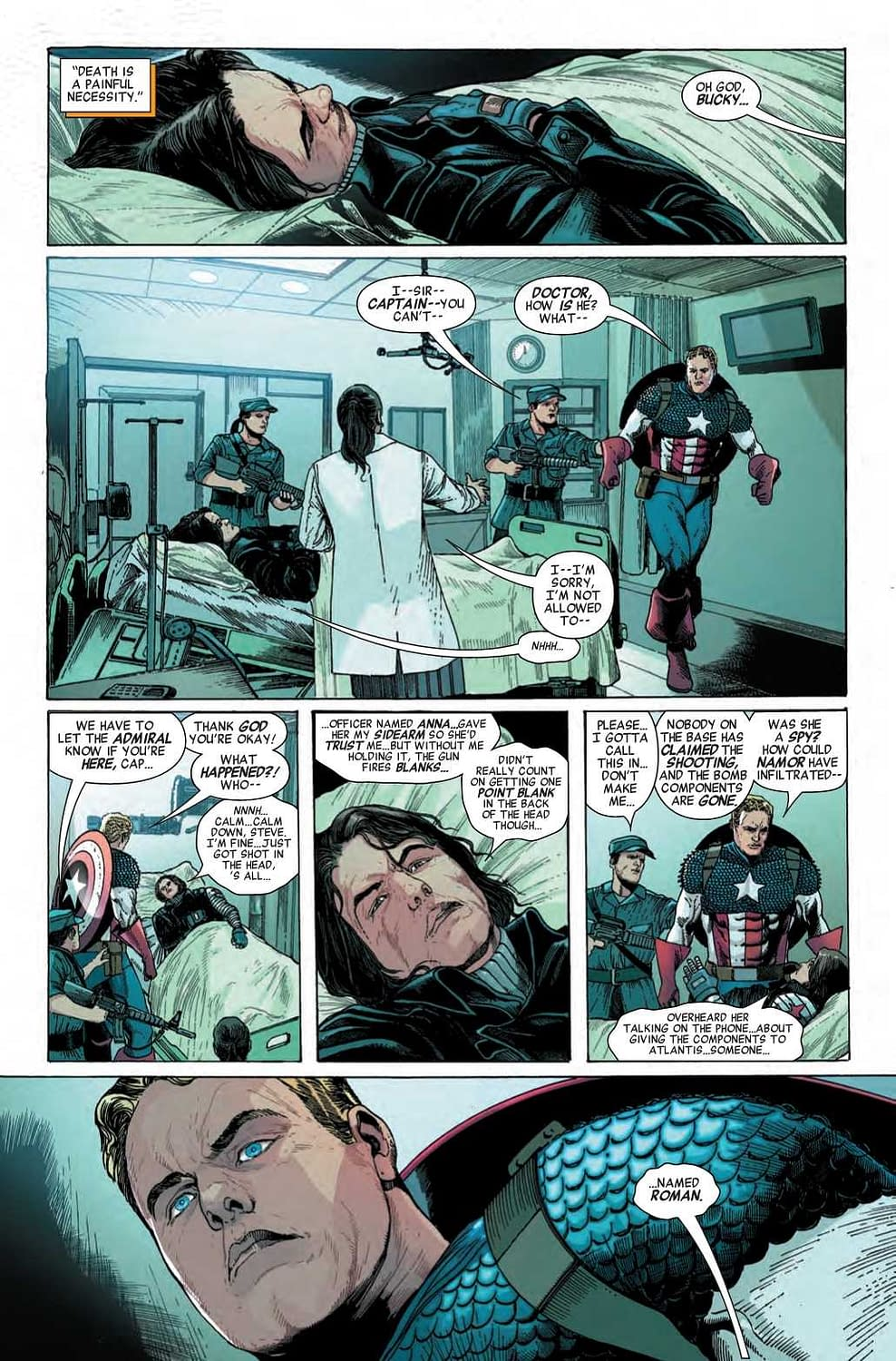 Namor Always Knew What to Do With Nazis (Invaders #5 Preview)