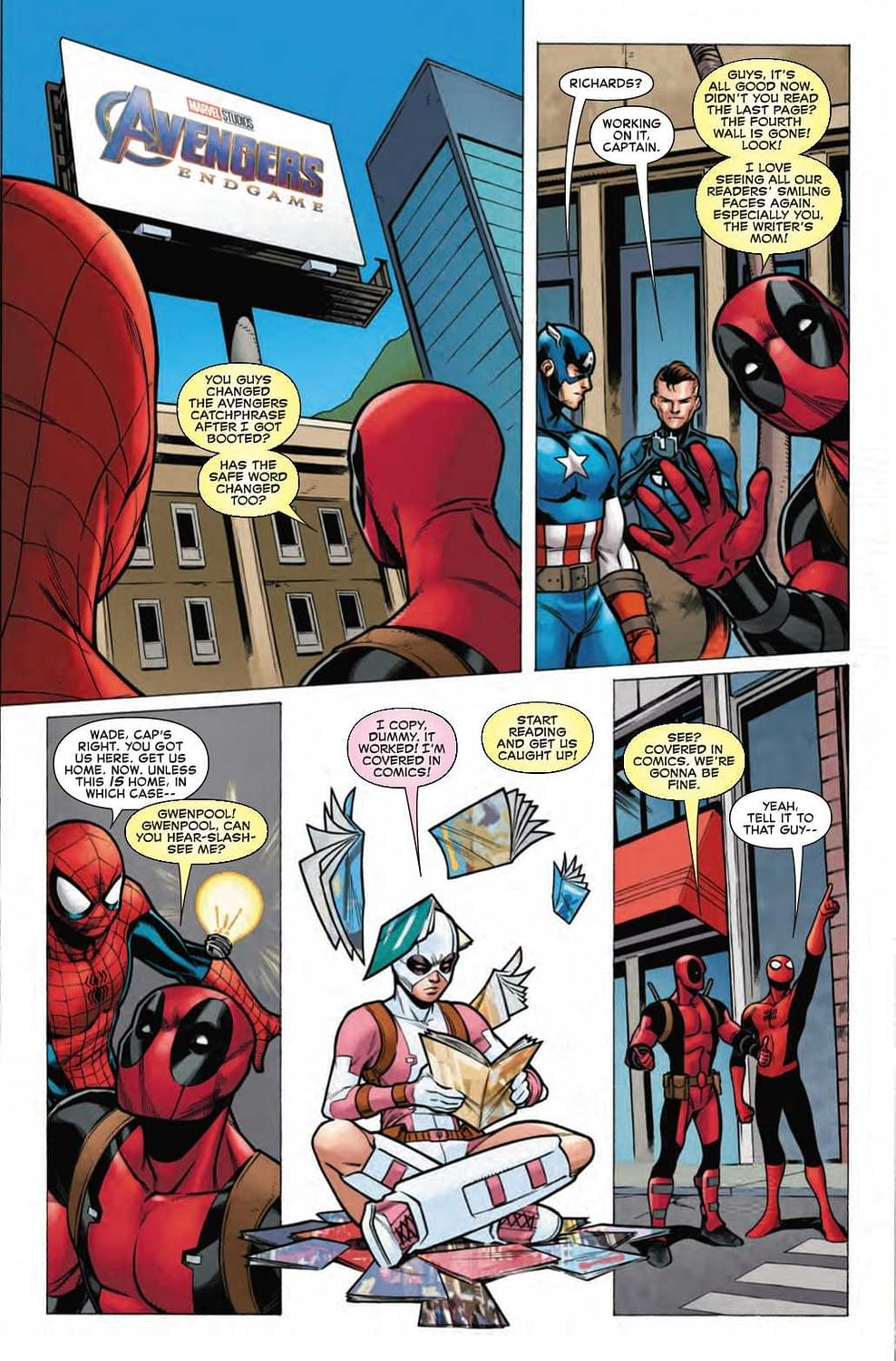 Can Spider-Man/Deadpool #50 Recapture That Rob Liefeld Magic? (Preview)