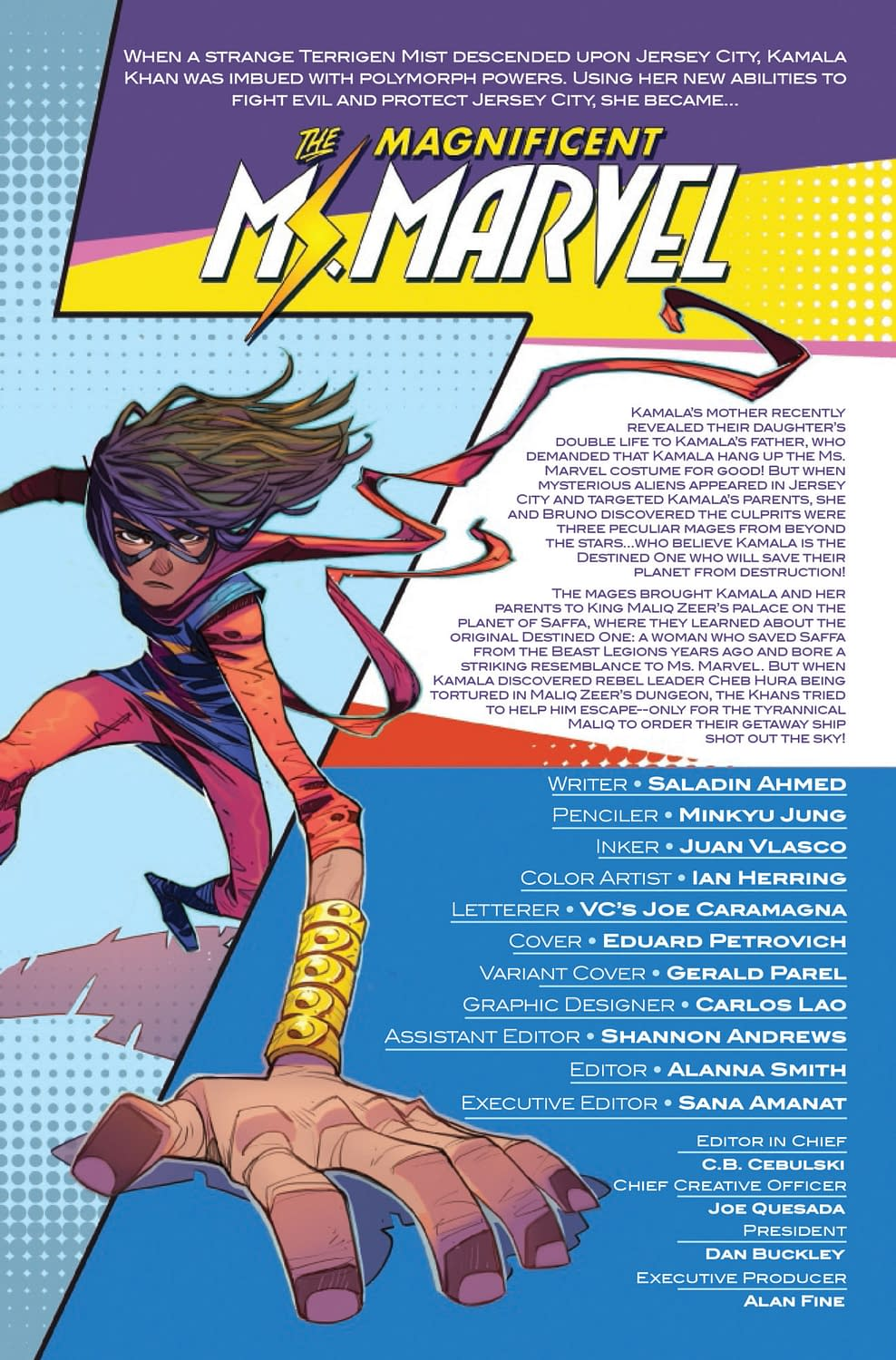 Parents Just Don't Understand in Magnificent Ms. Marvel #4 (Preview)