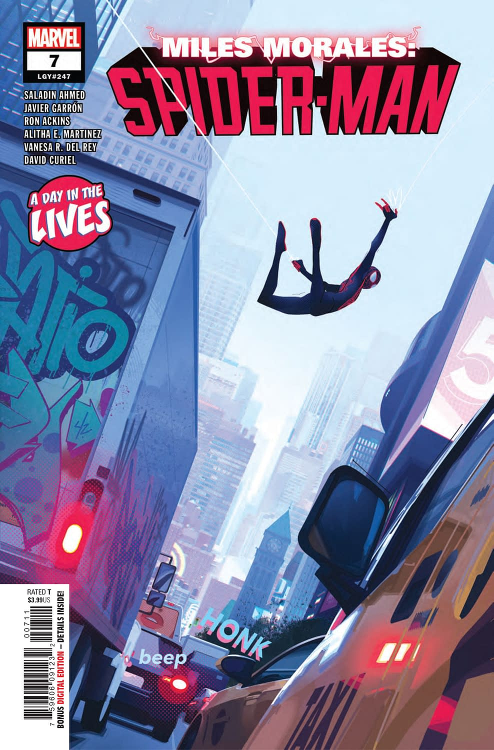 Snitching on Uncle Prowler in Miles Morales: Spider-Man #7 (Preview)
