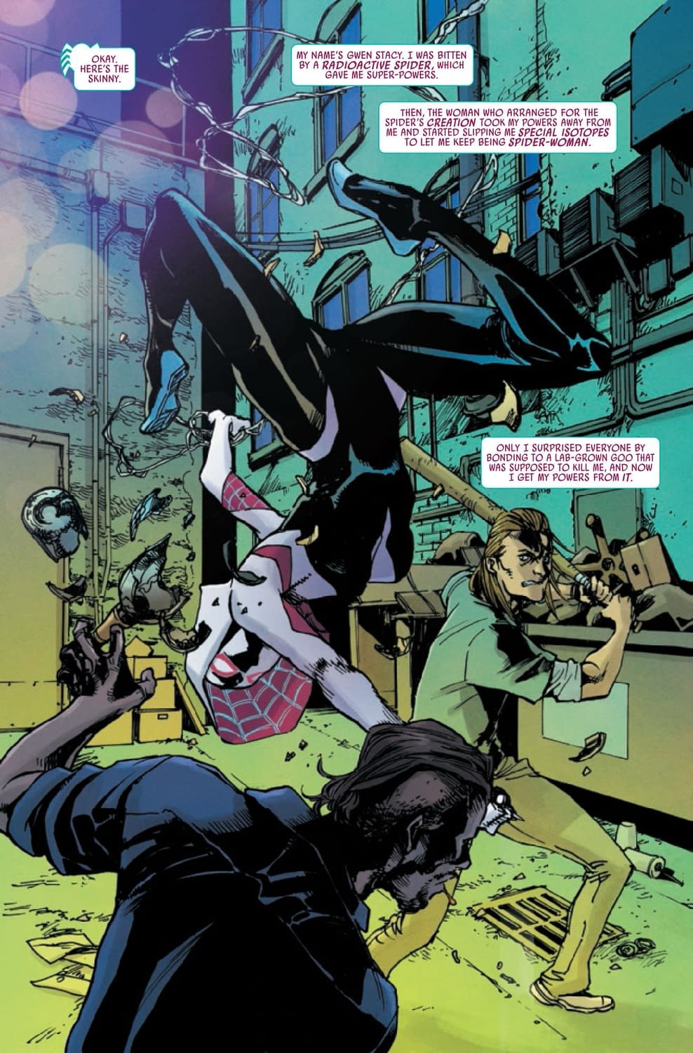 Powerless, and Trapped in the 616 - Spider-Gwen: Ghost Spider #10 Preview