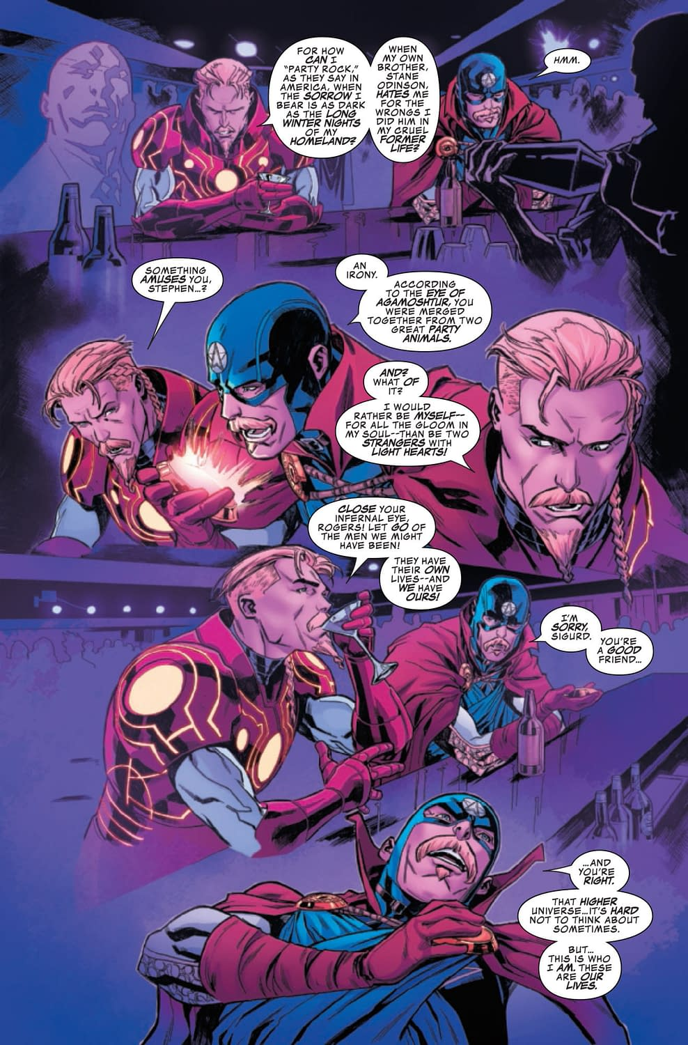 Reality Envy in Secret Warps: Soldier Supreme Annual #1 (Preview)