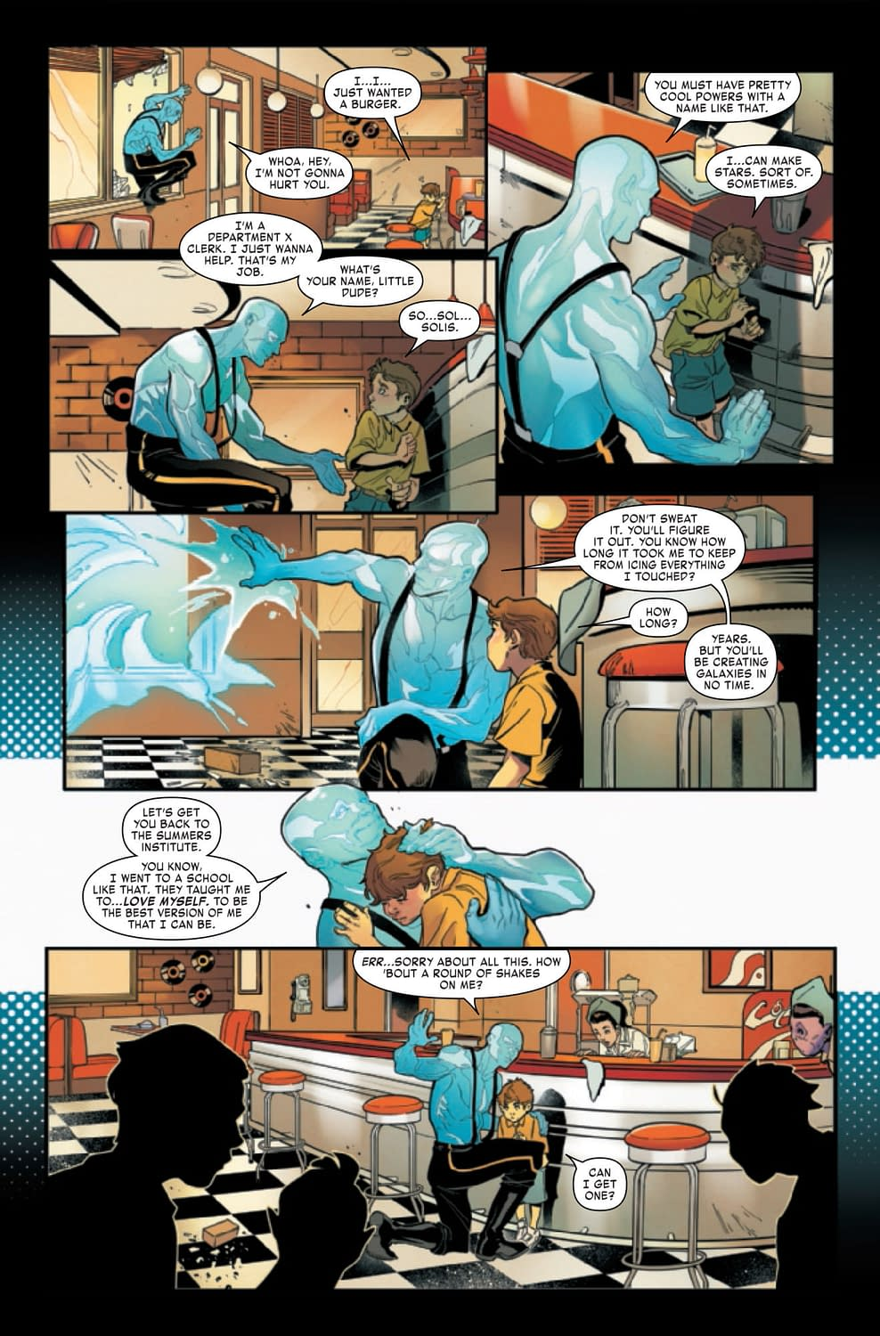 Age of X-Man Omega: Not an Alternate Universe?! [Preview]