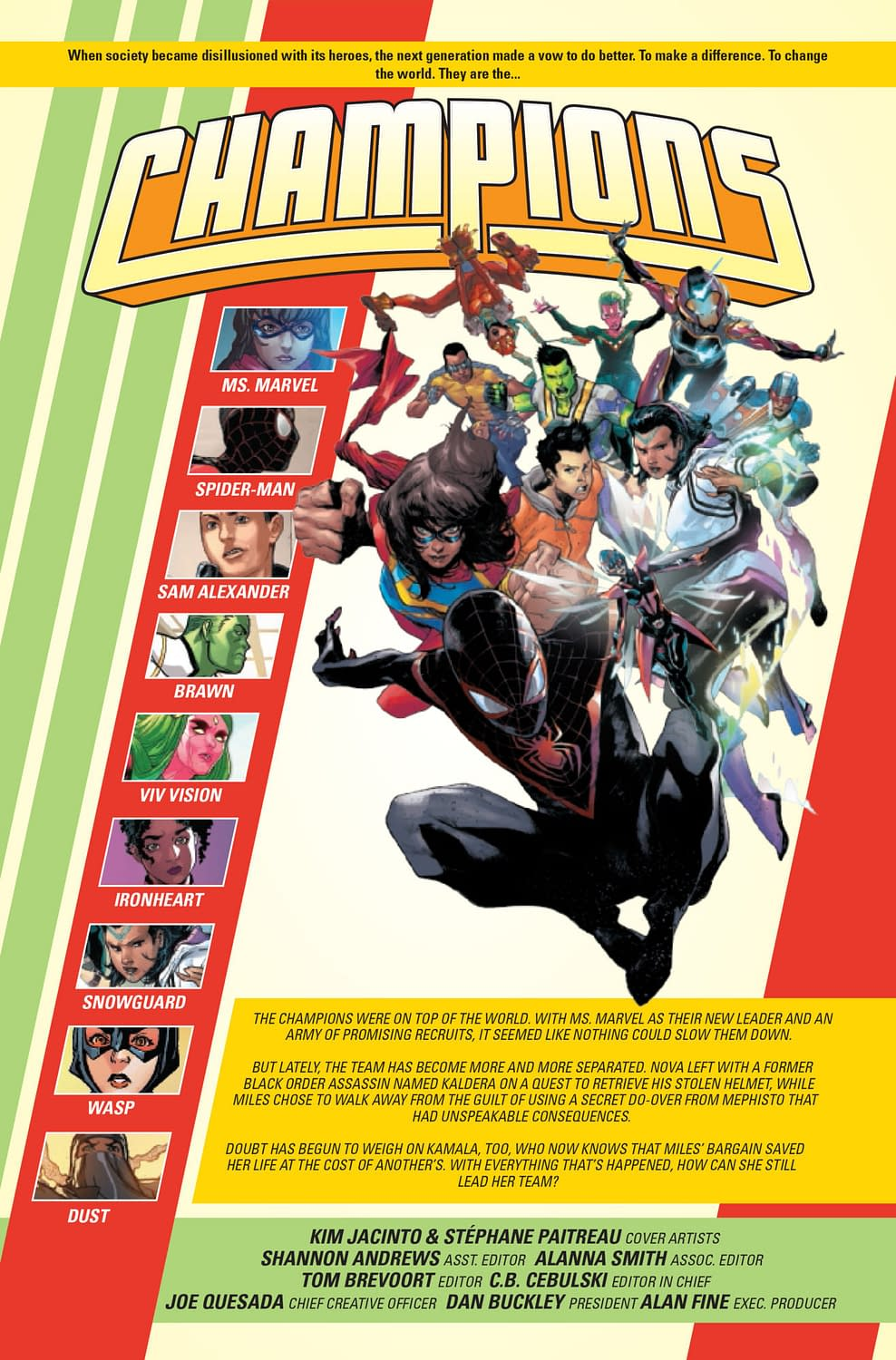 Champions #7: When Heroes Cry [Preview]