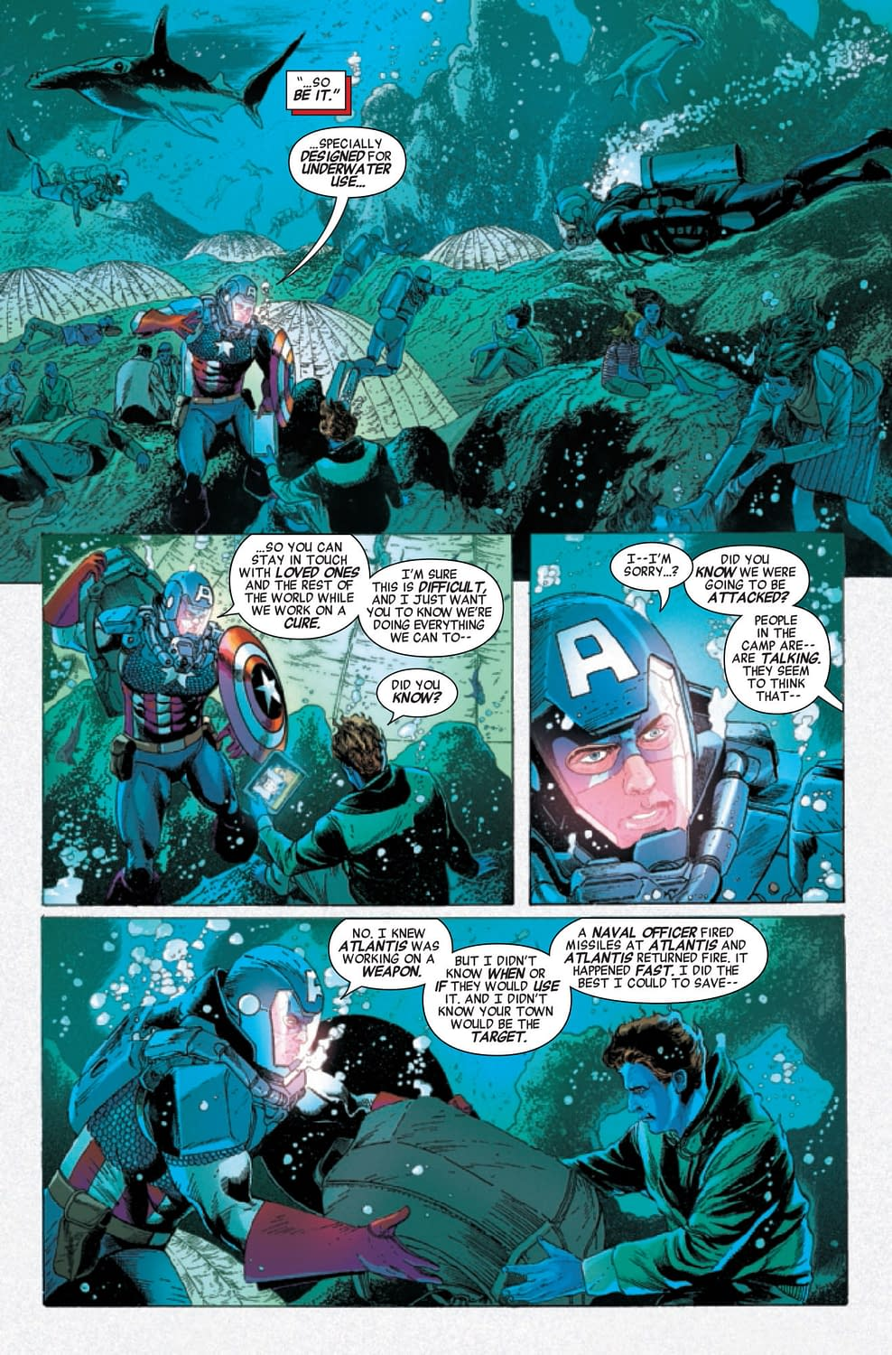 Invaders #7: Iron Man vs. Captain America... Again?! [Preview]