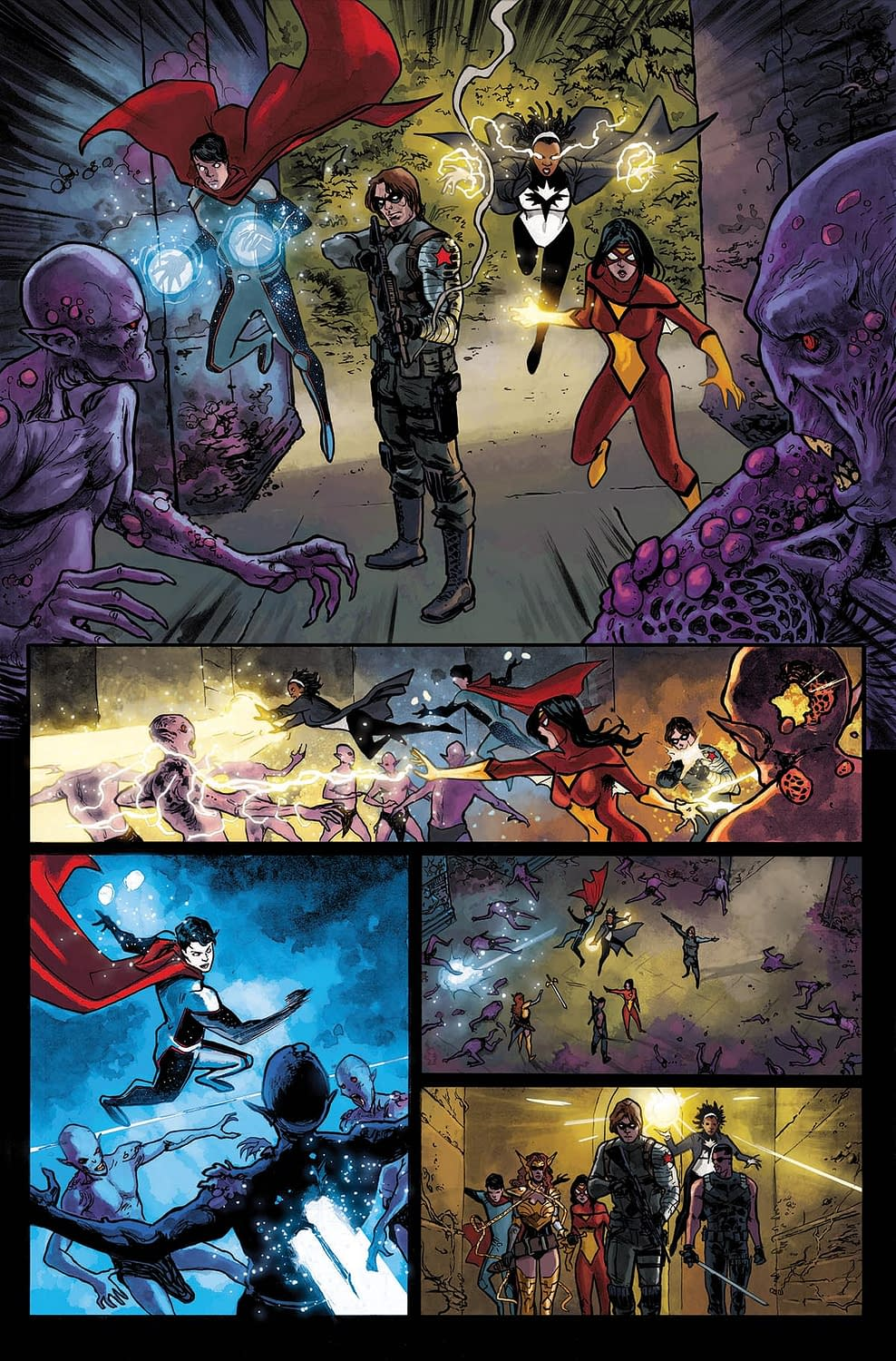 Get a Better Look at the Marvel Universe's Underside with Strikefore Digital Director's Cut