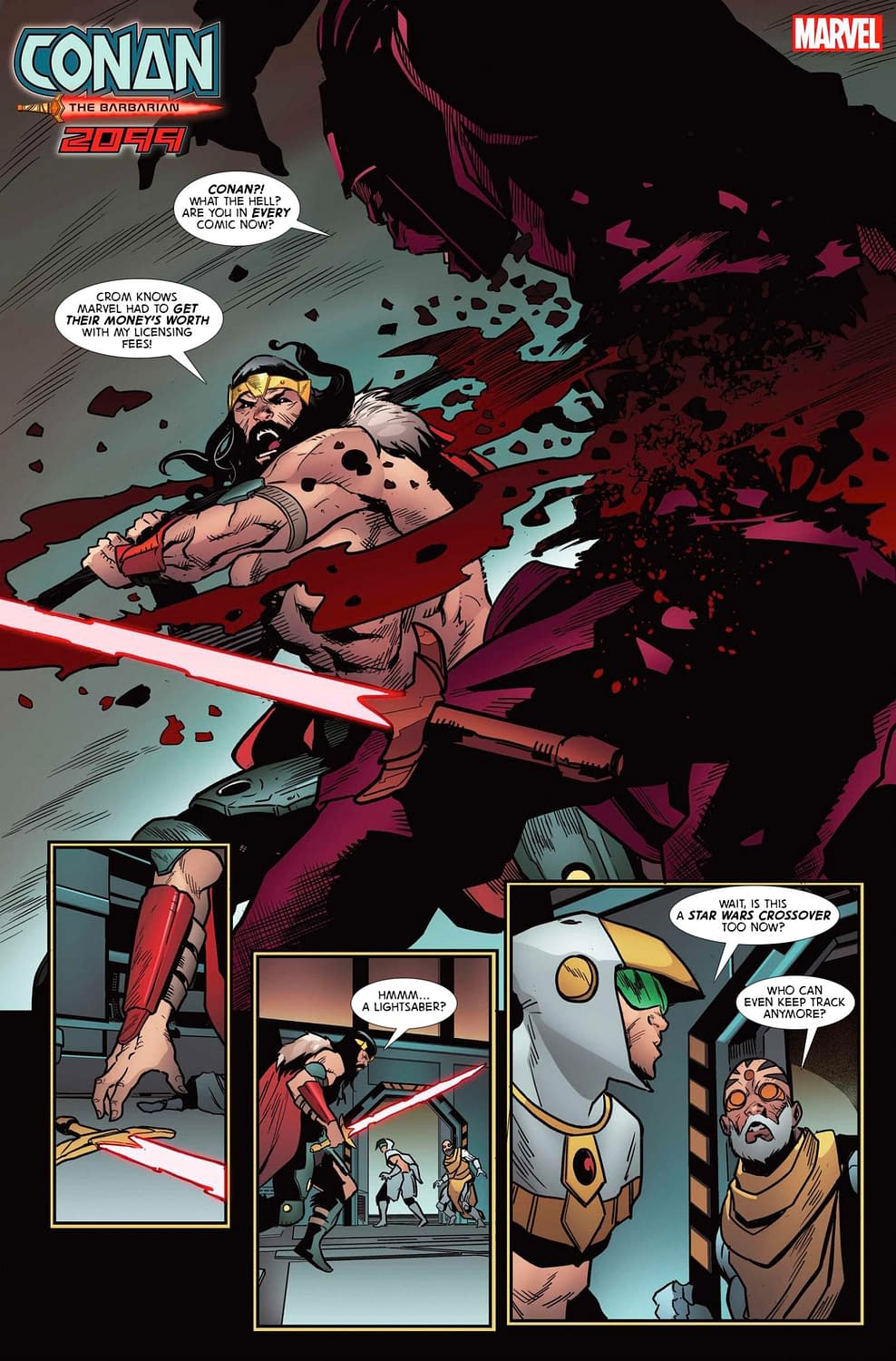 Getting Marvel's Money's Worth with Conan 2099 [Improbable Previews]