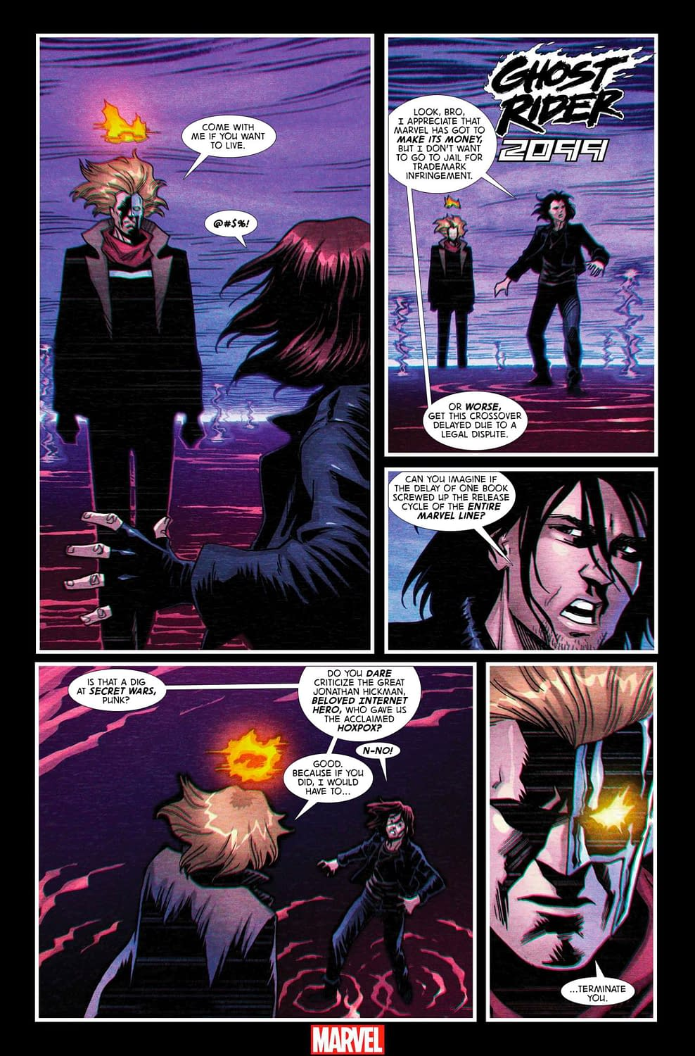 A Dark Fate for Ghost Rider 2099 #1 [Improbable Previews]