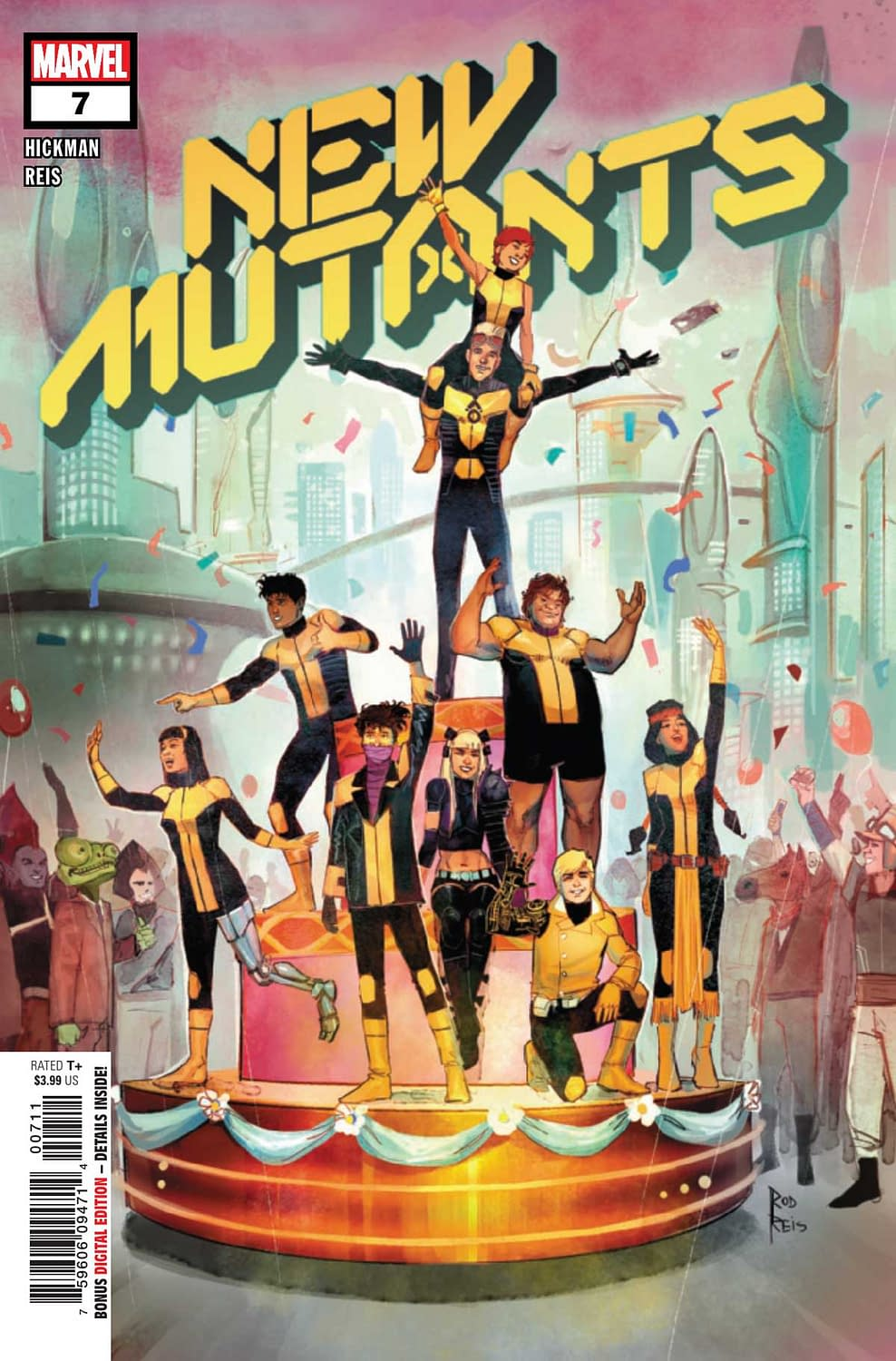"REVIEW: New Mutants #7 -- ""An Afro-Latinx Barney Stinson In Space"""