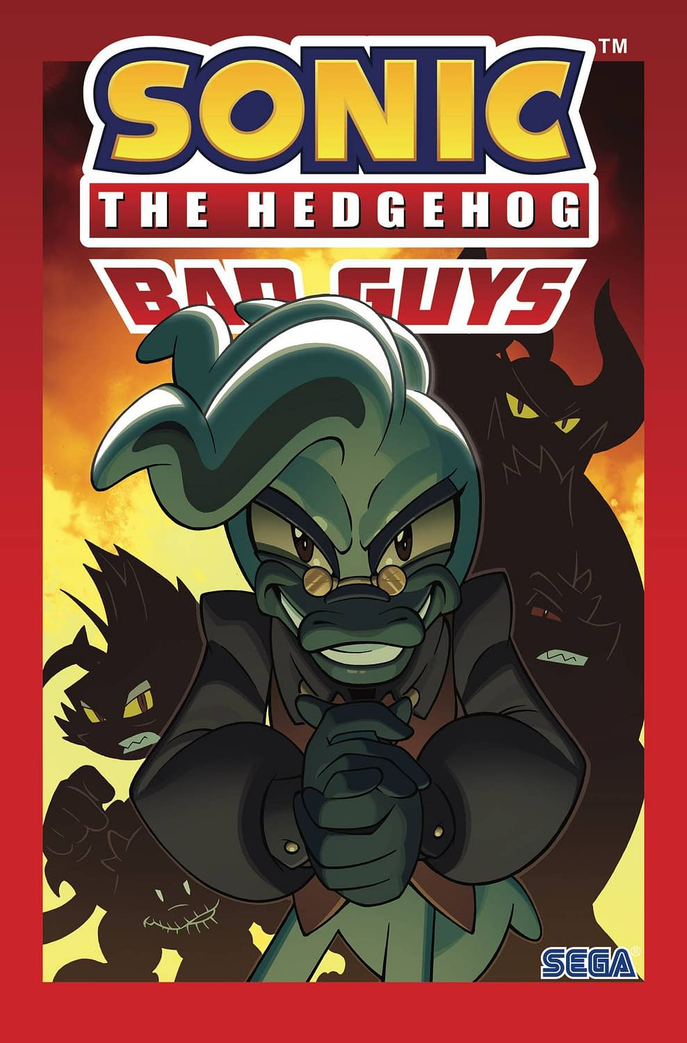 IDW SONIC THE HEDGEHOG BAD GUYS TP