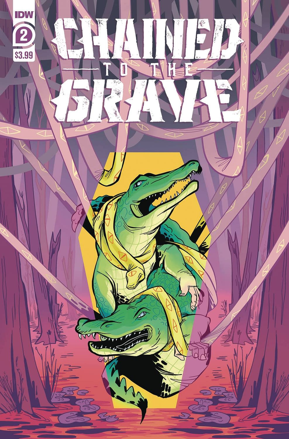 IDW Full Solicitations For March 2021 With Godzilla, Disney & GI Joe CHAINED TO THE GRAVE #2 (OF 5) CVR A SHERRON (RES)