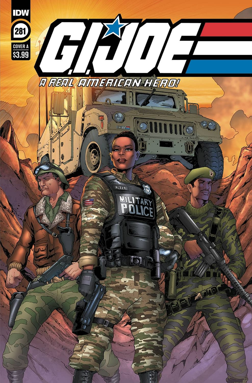 IDW Full Solicitations For March 2021 With Godzilla, Disney & GI Joe GI JOE A REAL AMERICAN HERO #281 CVR A ANDREW GRIFFITH
