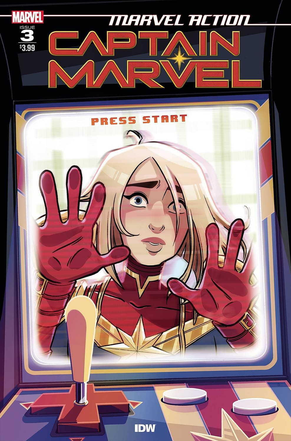 IDW Full Solicitations For March 2021 With Godzilla, Disney & GI Joe MARVEL ACTION CAPTAIN MARVEL #3