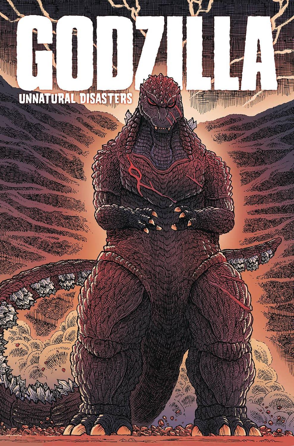IDW Full Solicitations For March 2021 With Godzilla, Disney & GI Joe GODZILLA UNNATURAL DISASTERS TP
