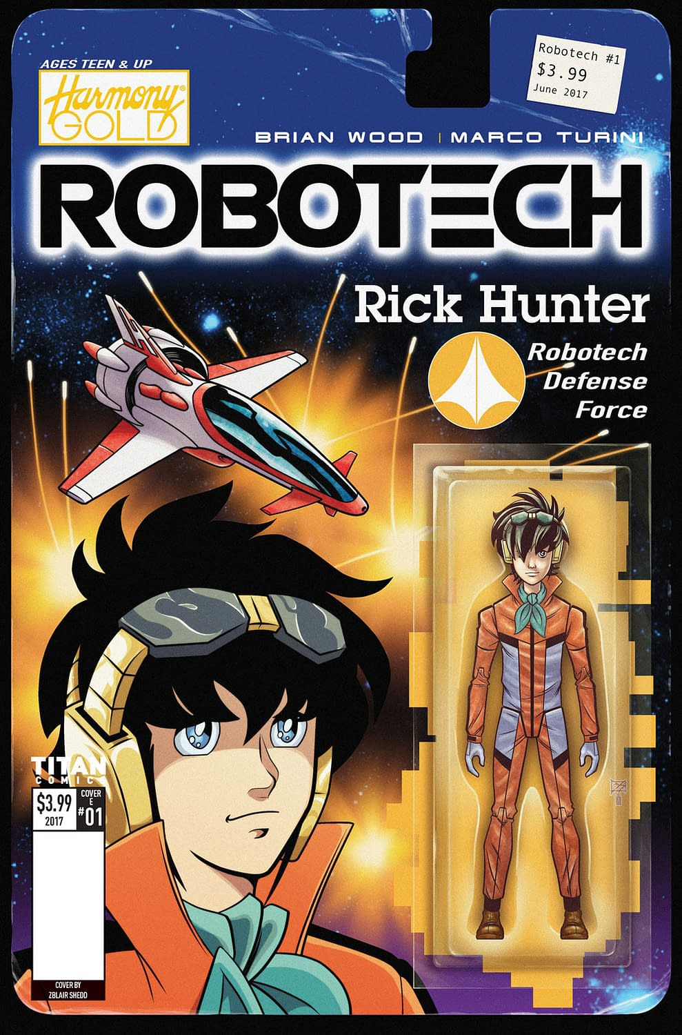 Get Ready For Titan's Robotech With A Preview Of Robotech #1 Ahead Of Monday's FOC, In Stores In July