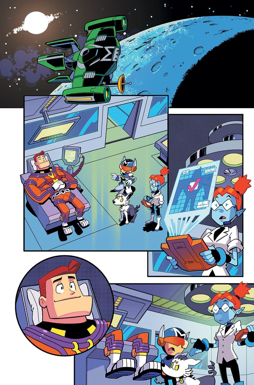 FOC Preview of Cosmo the Mighty Martian #3