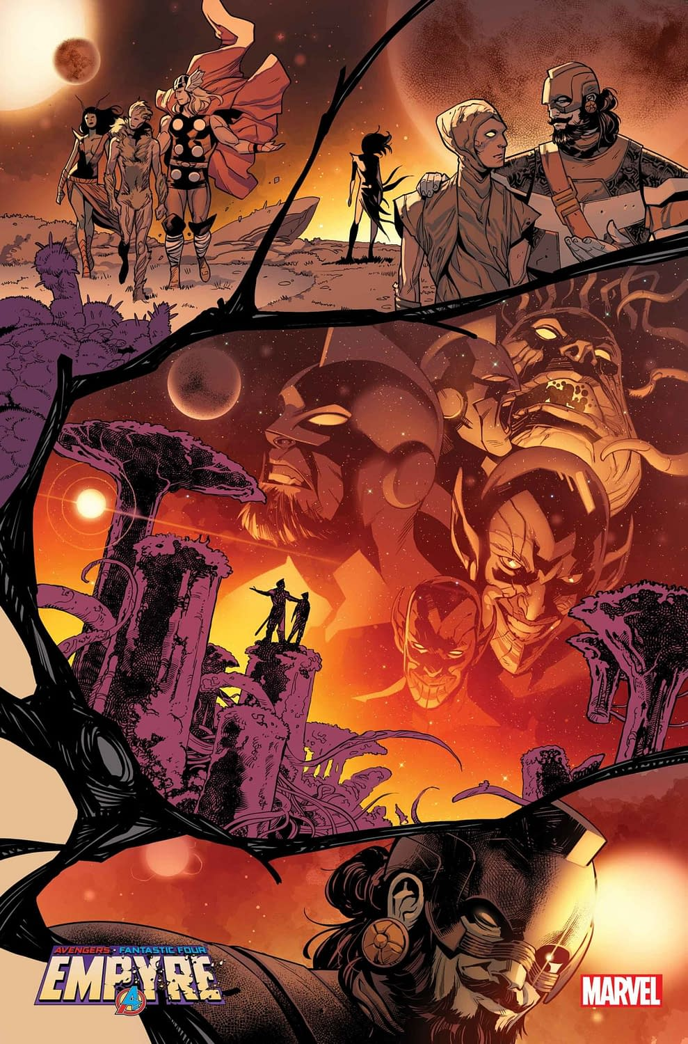 5 Pages of Interior Art from Marvel's Empyre #2