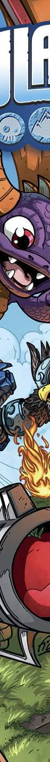 First Look At The Skylanders Comic From IDW