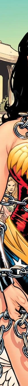 Wonder Woman In Chains On The Cover Of Earth One From Morrison Paquette And Fairburn