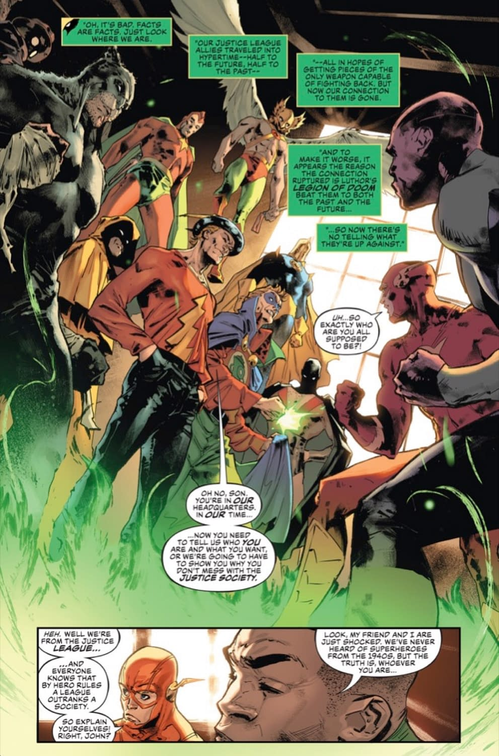 EXCLUSIVE Justive League #31 Preview