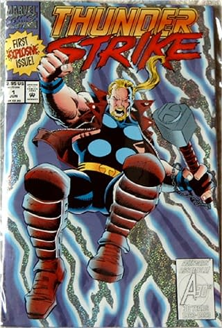 Does Thunderstrike #1 By Tom DeFalco And Ron Frenz Herald Nineties Revival?
