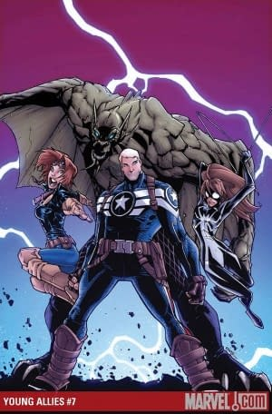 Marvel Cancels Young Allies With #6 – Will Not Publish #7