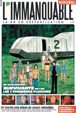 L'Immanquable – First French Comics Monthly Magazine In Ten Years?