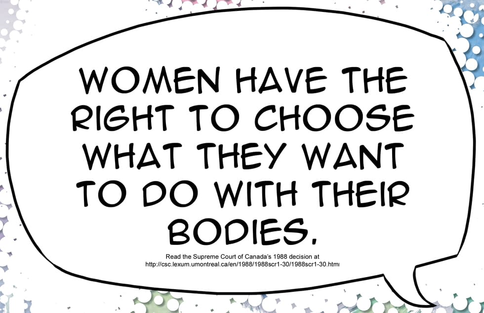 Pro-Choice Comic To Target Pro-Life Truck