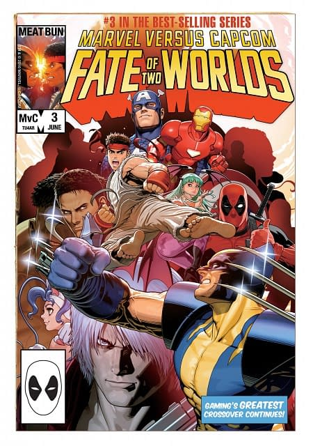 What On Earth Happened To The Marvel Vs Capcom 3 Comic Cover?