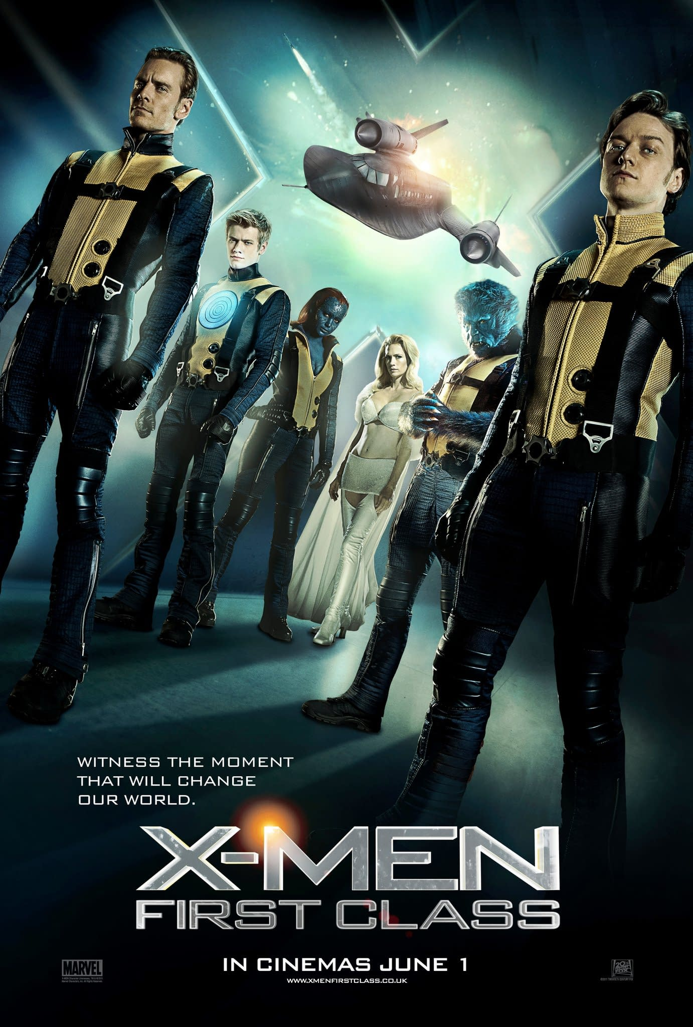 Another Odd Looking X-Men First Class Movie Poster