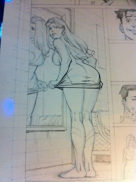 Robert Kirkman Insisted On Covering Up Eve's Bottom In Invincible #79
