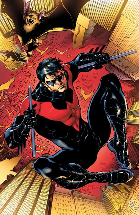 DC Relaunch: Cover To Nightwing #1