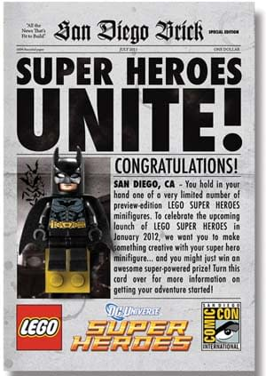 Nerd Worlds Collide: Lego Announces DC AND Marvel Licenses