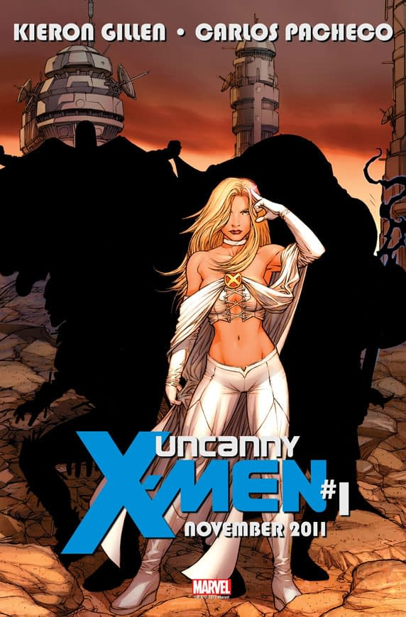 Another Game Of Silhouettes With Kieron Gillen And Carlos Pacheco's Uncanny X-Men #1