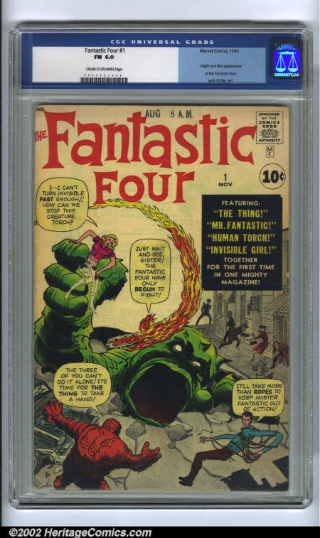 Here's Why Today Is A Good Day To Celebrate The 50th Anniversary of Fantastic Four 1