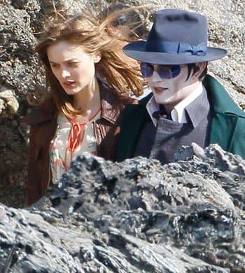 Johnny Depp's Barnabas Collins Revealed In Dark Shadow Set Photos