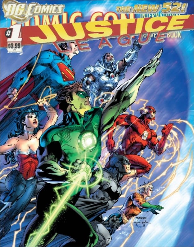 Justice League #1 Third Print To Use Comic Con Cover