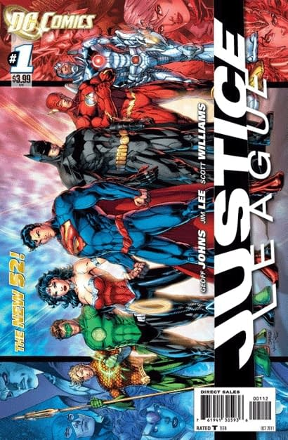 Action Comics #1 And Batgirl #1 Sell Out And Get Second Prints. Justice League #1 Gets Third.