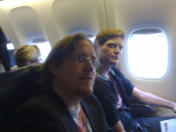 Flying With Si Spurrier. And Boy Are His Arms Tired.
