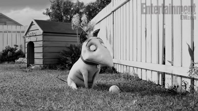 First Official Stills And Behind The Scenes Photos From Tim Burton's Frankenweenie