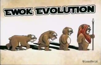 The Evolution Of Ewoks And More, Courtesy Of Barney Stinson