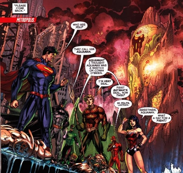 Sixteen Thoughts About Sixteen DC Comics – Justice League, Batman Inc, Catwoman, Captain Atom, Wonder Woman, Red Hood And The Outlaws, Batman, Blue Beetle, Supergirl, Thunder Agents, Batman Odyssey, Blue Beetle, DC Universe Presents, Birds Of Prey, Green Lantern Corps And Legion Of Superheroes